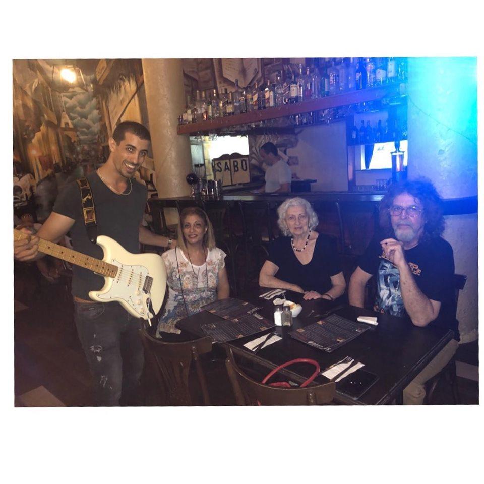 אירועים והופעות בגיטרה